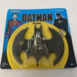Vintage 1989 ERTL Batman Movie 1:43 Die Cast Batwing  #2495 NOC UNPUNCHED
