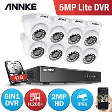 ANNKE 1080P Caméra Surveillance 5MP 8CH DVR TVI Système Sécurité Vision Nocturne