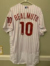 JT Realmuto Phillies Fanatics MLB Holo authentic Jersey Signed Autographed 2019