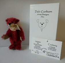 Deb Canham Cranberry Bear Fairytales Holiday Exclusive 2003 LE 79/100