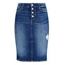 Guess Women's Denim Calf-Length Skirt PN: W94D79D3PY1