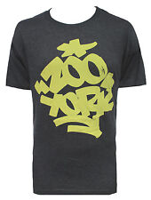 BRAND NEW ZOO YORK MENS GUYS GRAPHIC T SHIRT HEATHER CREW TEE TOP BLOUSE SZ M