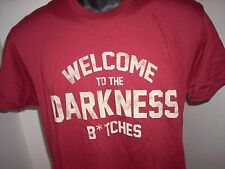 """NEIGHBORS""""WELCOME TO DARKNESS SMALL T SHIRT NEVER USED OR WORN"""