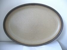 DENBY - ROMANY - LARGE OVAL PLATE PLATTER - SECOND QUALITY - USED CONDITION*p