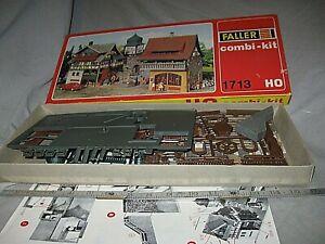 A6435 HO FALLER 1713 GERMANY RESTAURANT & HOTEL, plastic kit