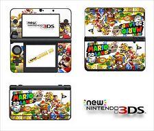 SKIN STICKER AUTOCOLLANT - NINTENDO NEW 3DS - REF 177 SUPER MARIO LAND 3D