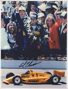 Al Unser Jr. - Racing Driver: Indianapolis 500 - Signed 8.5 x 11 Photograph