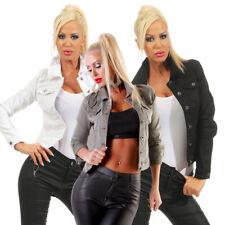 5197 Knackige Damen Jeansjacke Damenjacke Jeans Jacke Kurze Jacke Baumwolle.