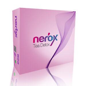 Nerox Tee TEA DETOX Extreme Fatburner Diox Detox gesund Abnehmen Pflanzlicher