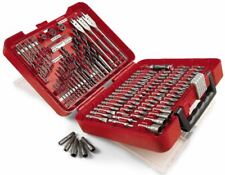 Craftsman Drill Bit Set 100 Piece Accessory Tool Kit Driver Screw Nut Tools Case