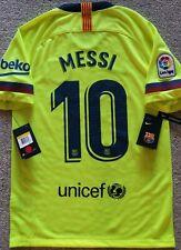 ORIGINAL BARCELONA 2018-19 AWAY NIKE FOOTBALL SHIRT SOCCER JERSEY #10 MESSI $135