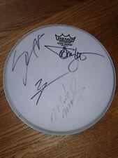 "Motley Crue Autographed 10"" Drum Head"