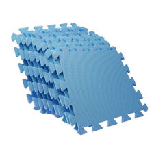 EVA Puzzle Foam Anti-Fatigue Blue Interlocking Floor Mats N9B7 F3M8