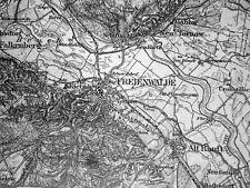 245 FREIENWALDE, Karte des Deutschen Reiches, 1:100.000, gedruckt 1921