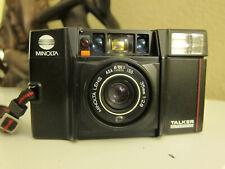 Minolta Talker AF 35mm P&S film camera