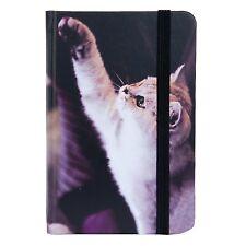 Clayre & Eef Notizbuch Tagebuch Memories Katze POSTALE Nostalgie Notizen x12cm