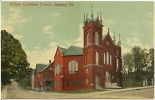 Trinity Lutheran Church in Bangor PA Postcard