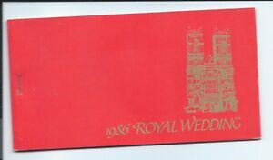 Nevis stamps. 1986 Royal Wedding MNH Booklet $7.20 (A473)