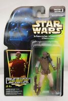 Star Wars Weequay Skiff Guard Tri Logo Power Of The Force Kenner 1996 TY