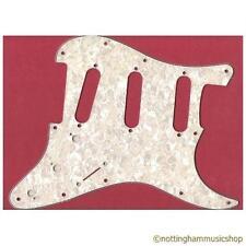 Guitarra Eléctrica Pickguard White Pearl scratchplate de Pick Guard Para Sss Pastillas C