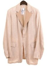 Gimo's Summer Made in ITALY Unstructured Linen Suede Lapels Sport Coat Jacket 44