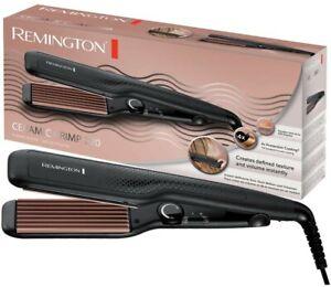 REMINGTON S3580 Ceramic Crimp 220 Hair Crimper 150°220° Tourmaline Root Volume