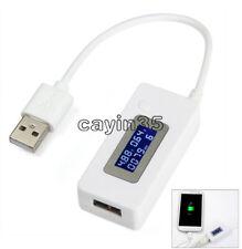 RESISTENZE di Carico USB Mobile Power Modulo/LCD USB Corrente Voltaggio Tester Monitor UK
