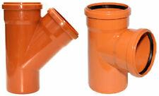 KG-Rohre KG Einfachabzweig KGEA 110, 125, 160, 200 Grad PVC Abwasserrohre Rohr