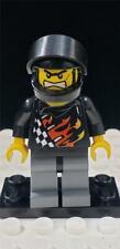 LEGO Bart Backyard Blaster 1 Minifigure wr002 Helmet Flames World Racers 8864