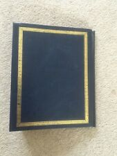 Blue slip-in photo album 7 x 5 inches