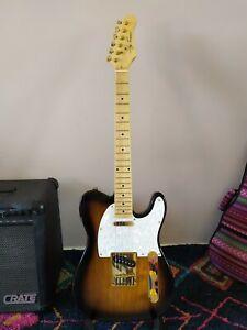 Telecaster Jay Turser Tele Sunburst Electric Guitar