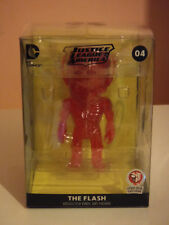 MIGHTY JAXX! XXRAY - DC JUSTICE LEAGUE -THE FLASH (CLEAR RED) 2016 STGCC #04 NEW