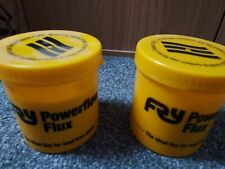 2 x Fernox FRY Powerflow Flux For Lead Free Solder, WRAS Approved Material 350gr