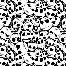 Nightmare Before Christmas Packed Jack Cotton Fabric Fat Quarter