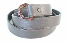 Diesel Black Gold + Ugo Cacciatori Leather Belt Size 105 Brown Madein Italy $370