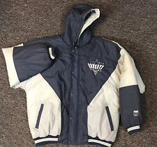 Dallas Cowboys Mens Puffer Jacket Vtg 80s 90s Quilted Lining Insulated Logo 7 L