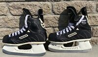 Bauer Supreme 7000 Junior Youth Hockey Skates Size 2.5 US 3.5 Canada Tuuk Blades
