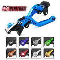 SEKITOBA Brake Clutch Blue Lever for Suzuki GSX250R V-Strom GSR600 GSXR600 DL650
