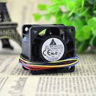 2 PCS DELTA TFB0412EHN Cooling Fan DC 12V 0.87A 40mm x 40mm x 28mm 4 WIRE