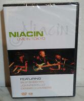DVD NIACIN - LIVE IN TOKYO - NUOVO NEW