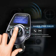 Inalambrico Kit para coche autos adaptador de radio transmisor FM Bluetooth LCD