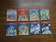 Fisher Price Little People Big Book All Glossy HBs Time Life for Children 8 set