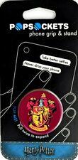 NEW Harry Potter Gryffindor Cell Phone Grips & Stand Grip Pop Socket Popsocket