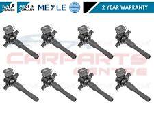 FOR BMW 5 7 SERIES E38 740 8x PETROL IGNITION COIL PACK STICK PENCIL SET MEYLE