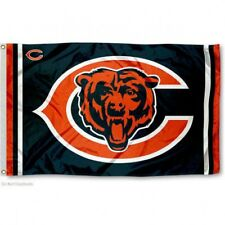 CHICAGO BEARS FLAG 3'X5' NFL LOGO BANNER: FREE SHIPPING