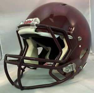 Riddell Revolution Speed Adult Football Helmet Maroon Size Large