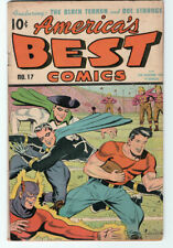 America's Best Comics #17  trimmed 1/8 inch  March 1946