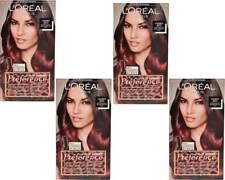 4x Loreal Preference Ombre Red zum Einbürsten, Coloriert Haarlängen 180ml