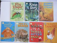 7 Read & Discover Books, Martin Jenkins,Karen Wallace,Walker Books Like New Cond