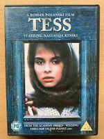 Tess DVD 1979 D'Urbervilles Thomas Hardy Roman Polanski Period Drama Classic